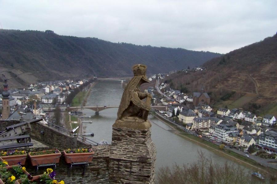 Кохем (Cochem) Германия - ворота в Frankfurt Hahn