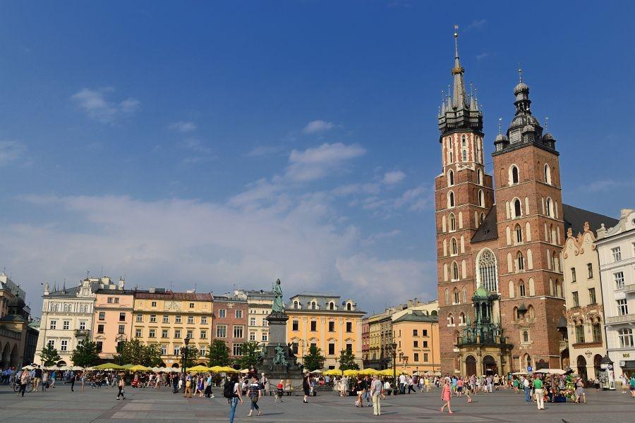 Краков - Польша Города
