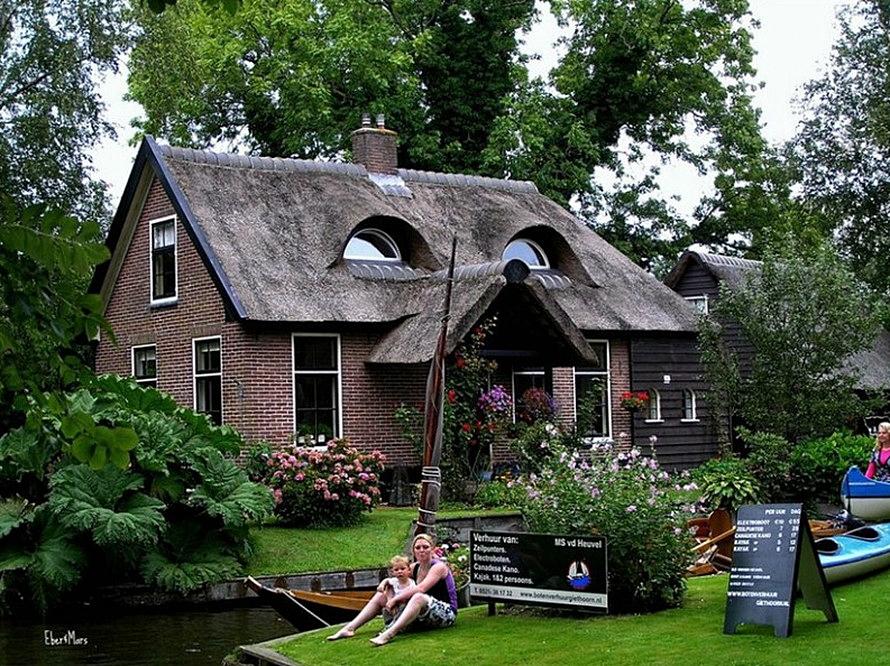 Giethoorn - Netherlands cities