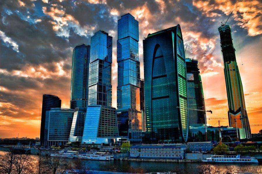 Москва - Россия Города