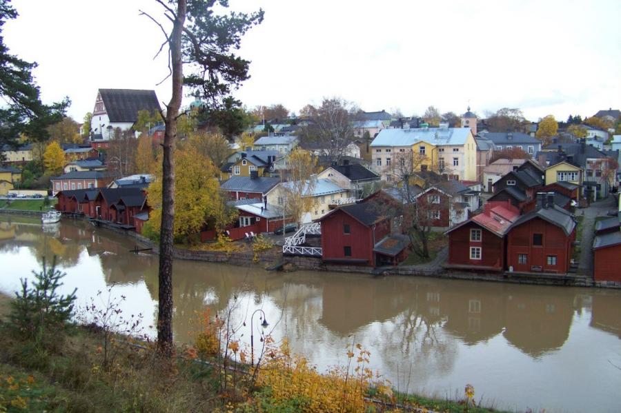 Порвоо - Финляндия Города