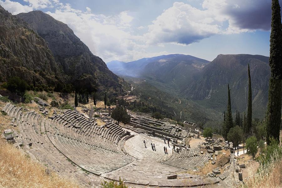 Delphi - Greece cities
