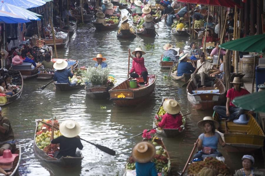 Бангкок - Тайланд Города