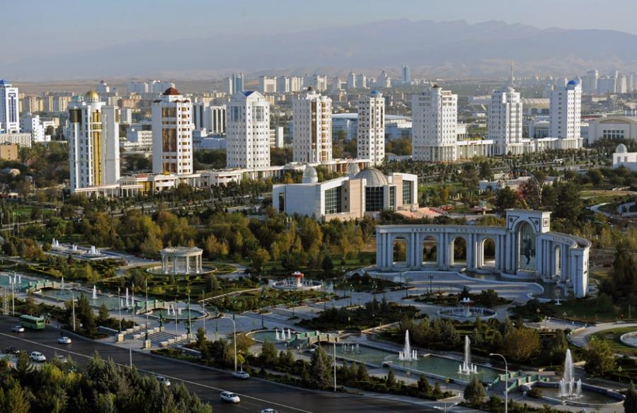 Ашхабад - Туркменистан Города