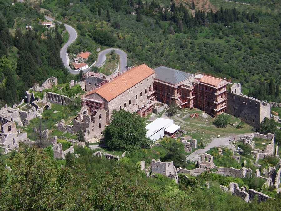 Mystras - Greece cities