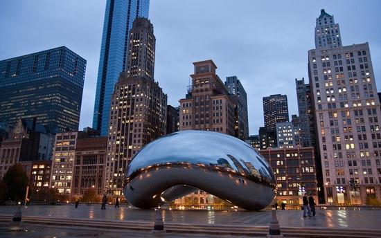 Чикаго - США Города