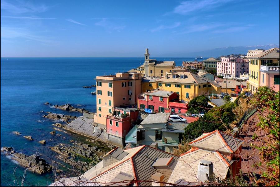 Генуя - Италия Города
