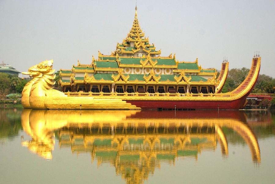 Янгон - Мьянма Города