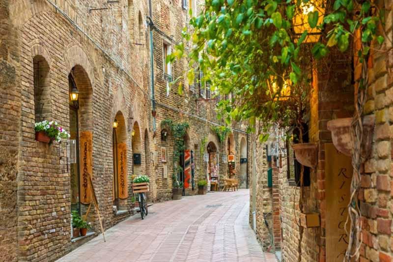 Сан-Джиминьяно - Италия Города