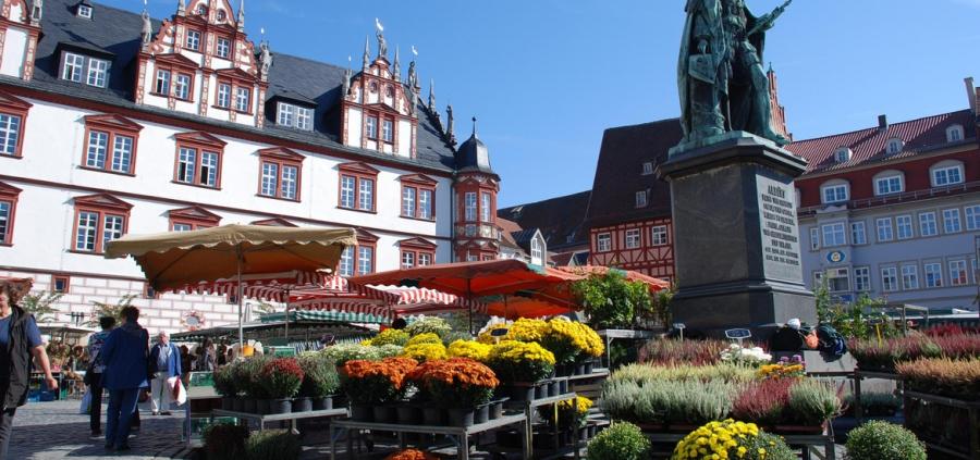 Кобург - Германия Города