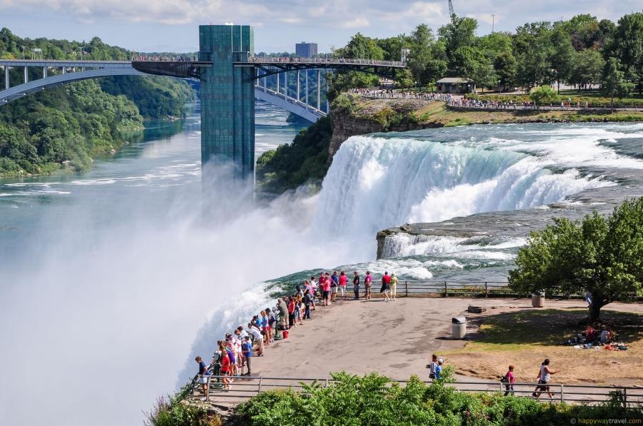 Ниагарский водопад - Канада Города