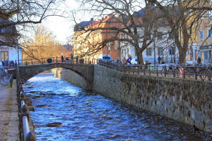 Упсала - Швеция Города