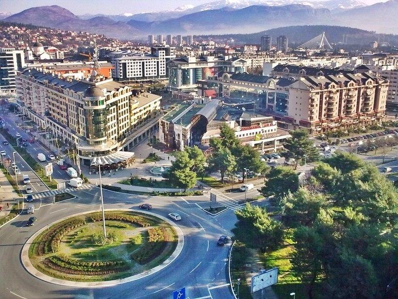 Подгорица - Черногория Города