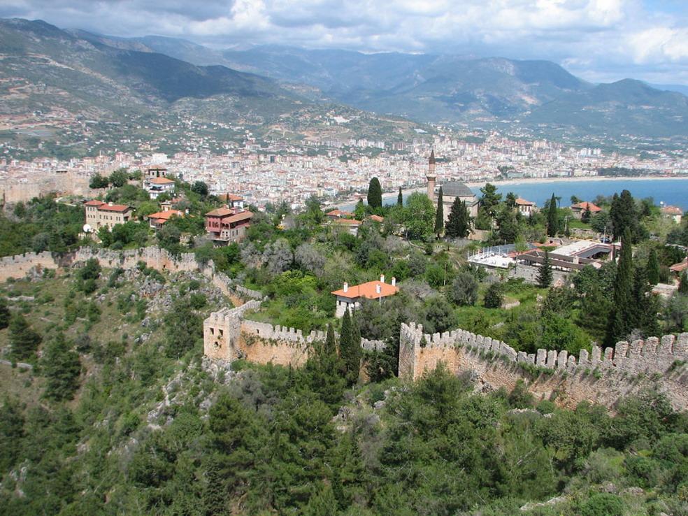 Alania - Turkey cities