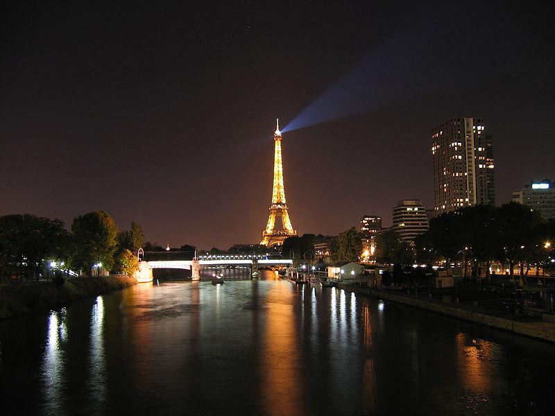 Париж - Франция Города