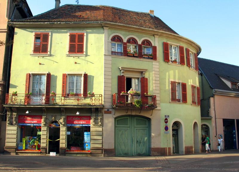Кольмар - Франция Города