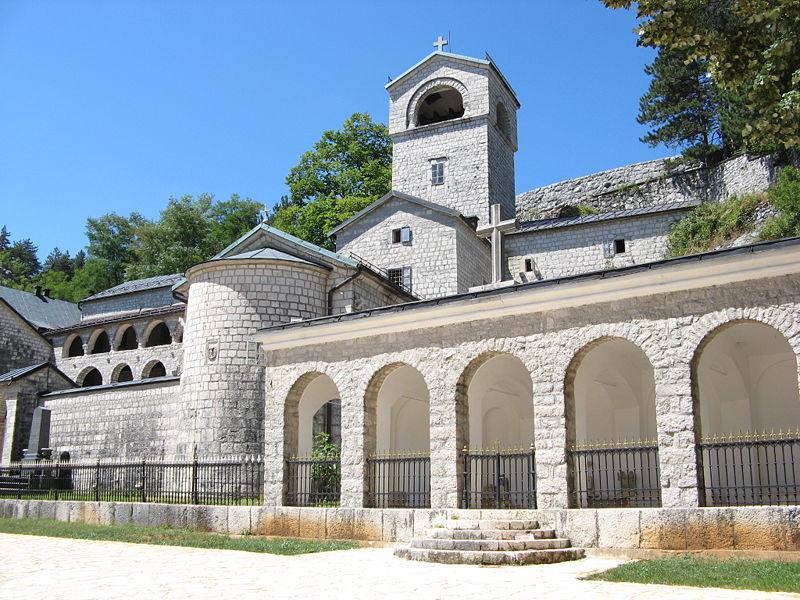 Цетинье - Черногория Города