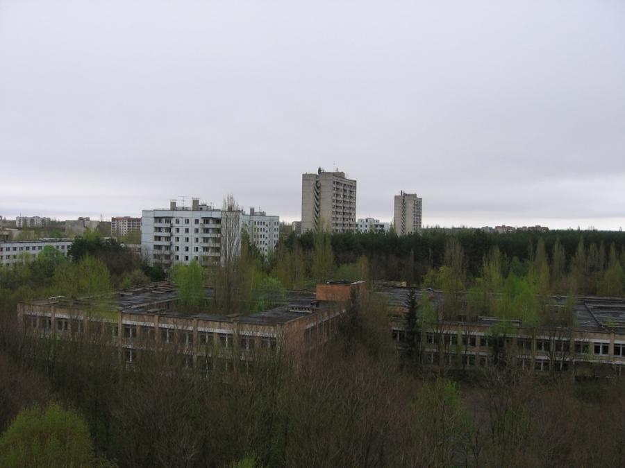 Чернобыль - Украина Города