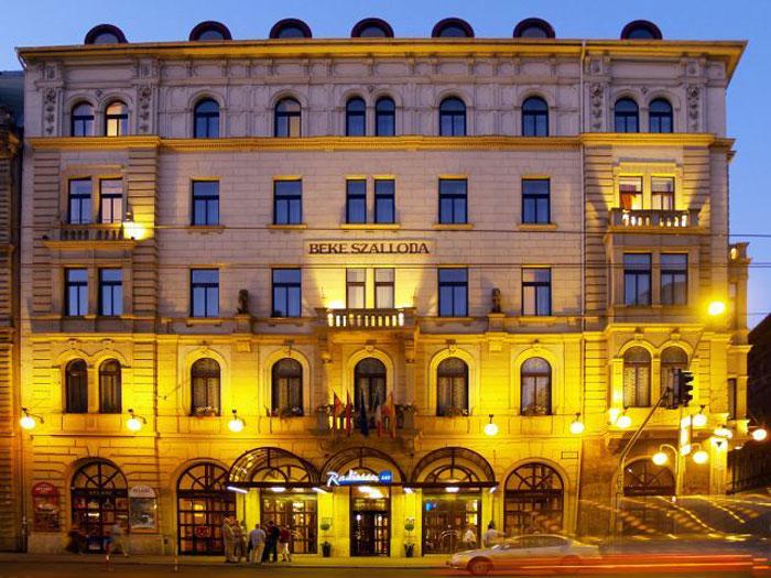 4*Radisson SAS Beke - Венгрия Отели
