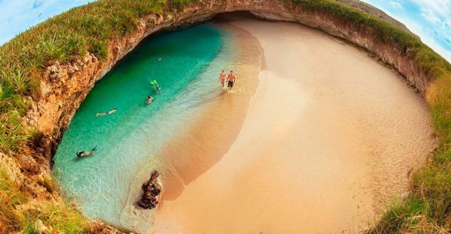 Пляж любви - Мексика Курорты