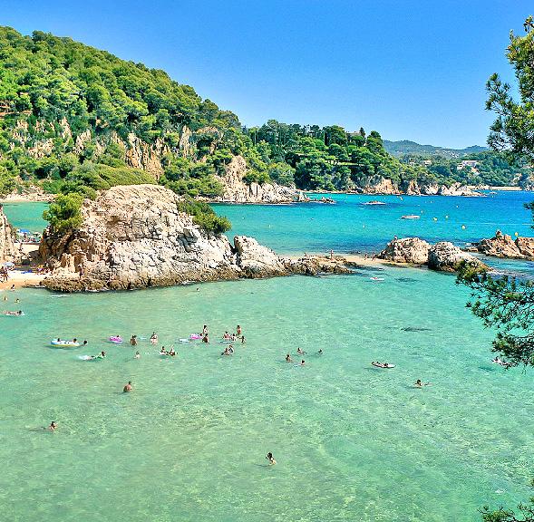 Коста Брава - Испания Курорты