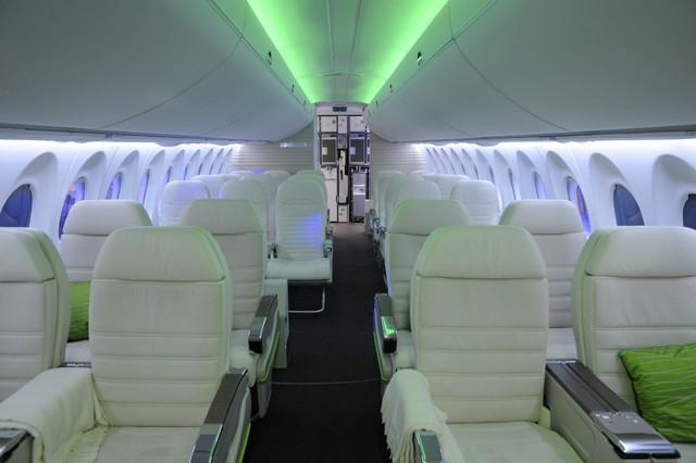 Для крупных пассажиров создали специальный самолет