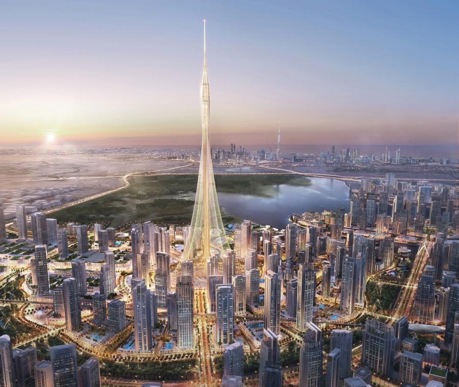 Новая икона Дубая башня