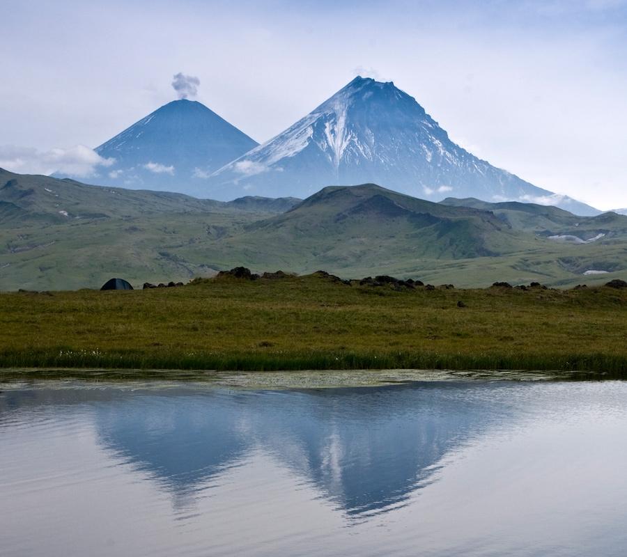 Более 25 тысяч туристов посетили парк Вулканы Камчатки