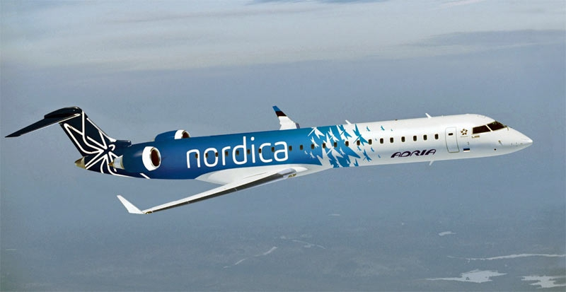 Эстонская авиакомпания Nordica с 15 мая начнет выполнять рейсы между Таллинном и Петербургом