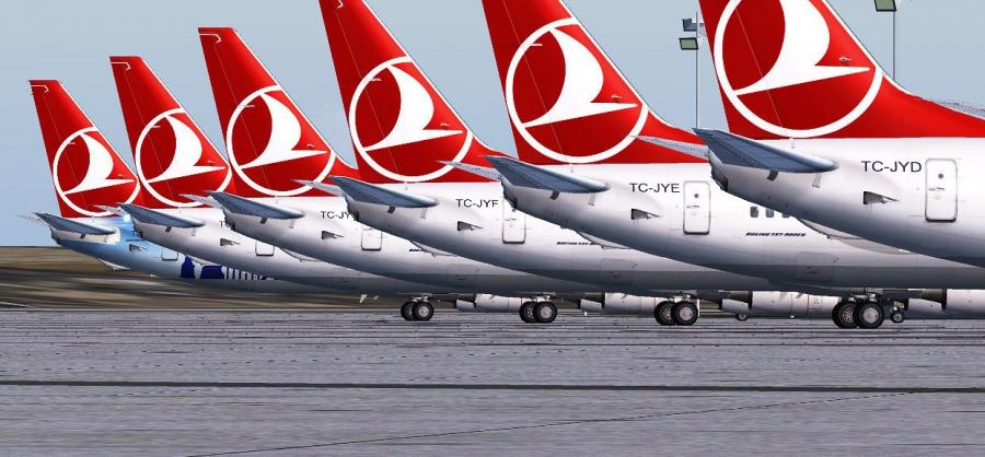 Грандиозная распродажа Turkish Airlines. Билеты из Питера по всему миру от 9000 руб