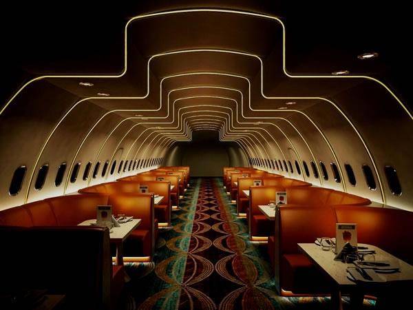 Пассажирский самолет в Индии превратили в вегетарианский ресторан