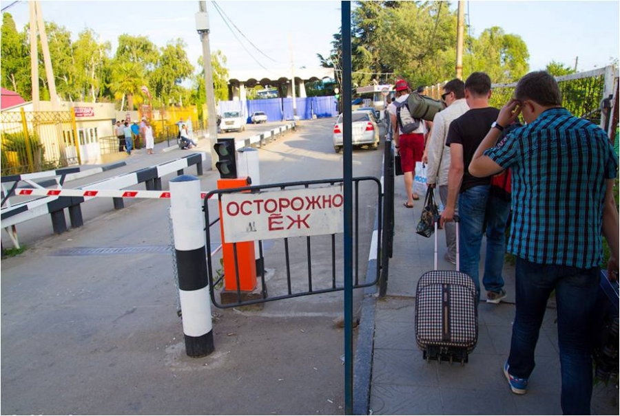Абхазия повысит штрафы за незаконное пересечение границы