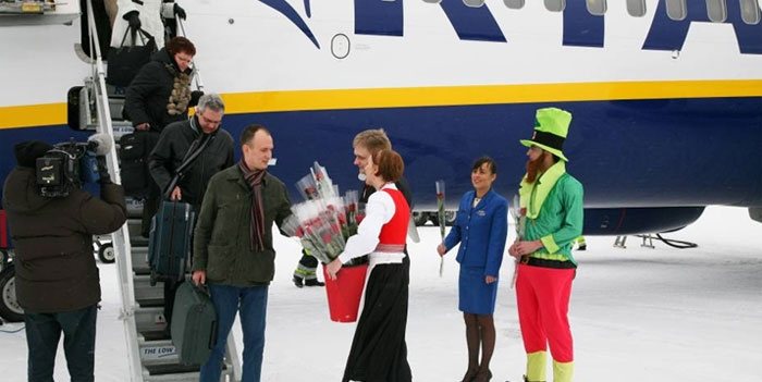 Ryanair to launch flights from eastern Finland to Greece