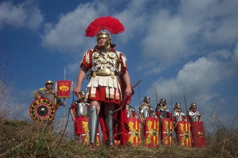 В Риме запретили наряжаться центурионом