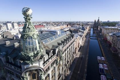 Санкт-Петербург оказался самым популярным у туристов городом России