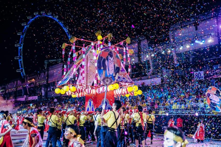 Парад-карнавал Чингай в Сингапуре