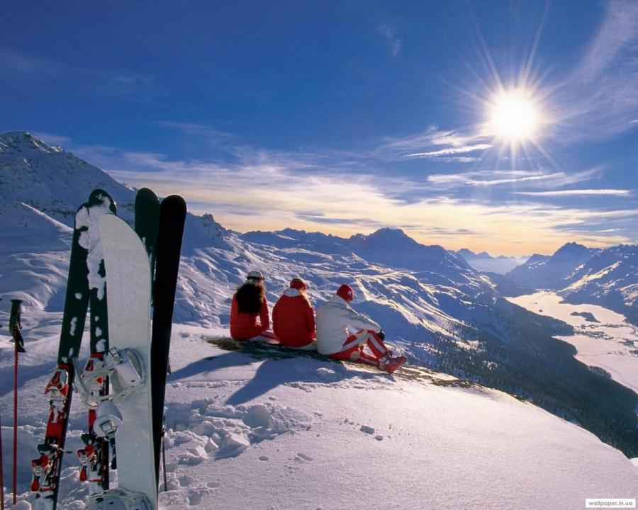 Самые популярные горнолыжки