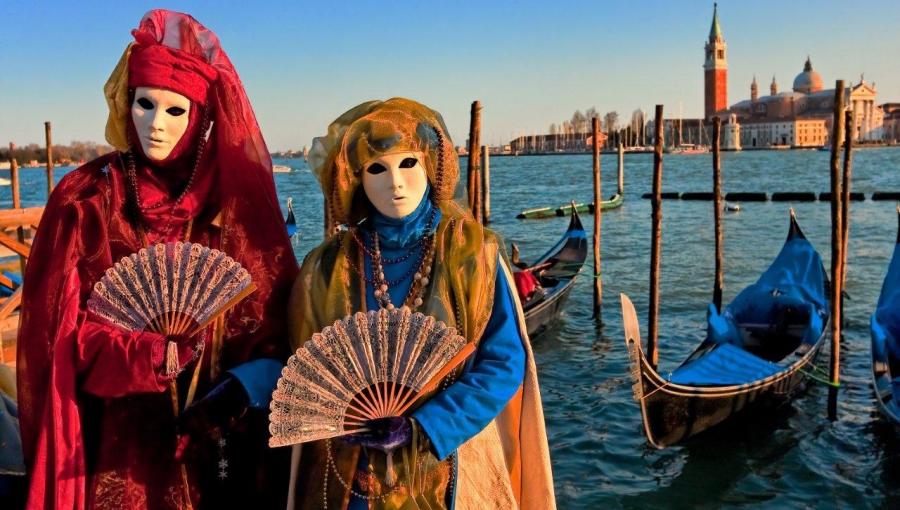 Карнавалы в городах Италии