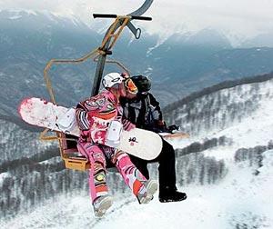 Самый романтичный горнолыжный курорт