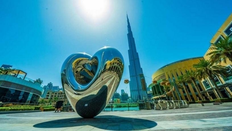 В Дубае новая любовная достопримечательность