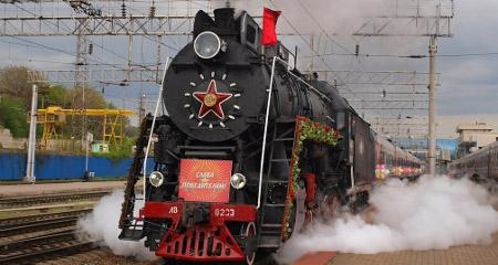 Ретро-поезд  запустят до парка «Рускеала» 1 июня