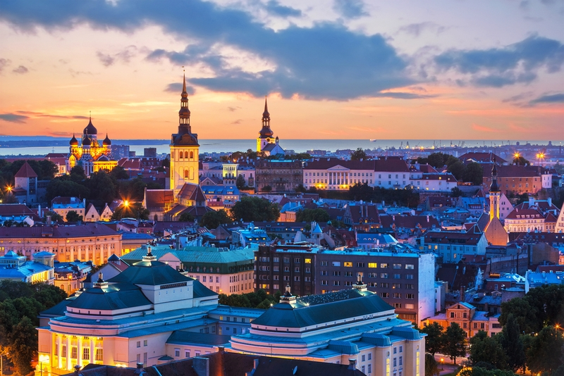 Резко выросло число российских туристов в Эстонии