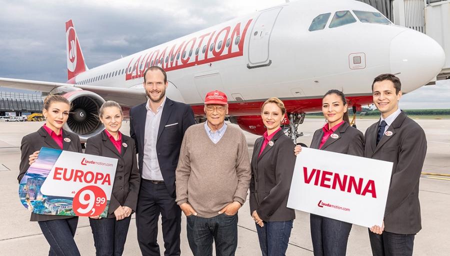 Авиакомпания Laudamotion будет летать из Лаппеенранты в Вену
