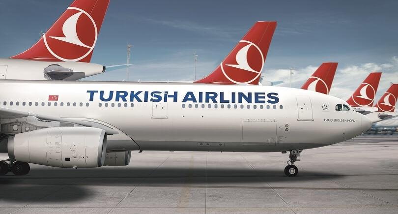 Turkish Airlines намерена после 1 августа совершать 32 авиарейса в шесть городов России
