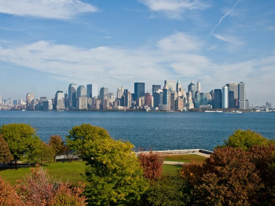 Штат Нью-Йорк - США Регионы