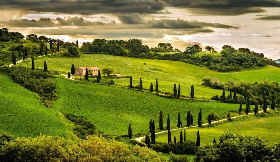 Умбрия - Италия Регионы