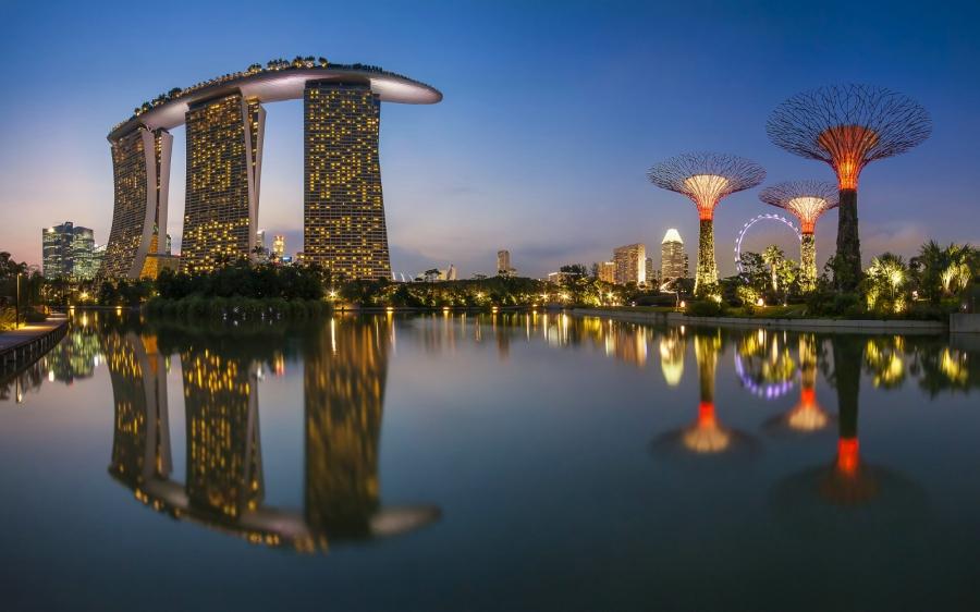 Дешевые билеты в Сингапур из Санкт-Петербурга от 23000 RUB  туда-обратно (RT)